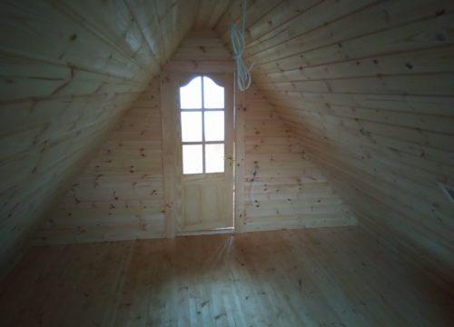 gatava gulbuves maja ar pirti 68m2