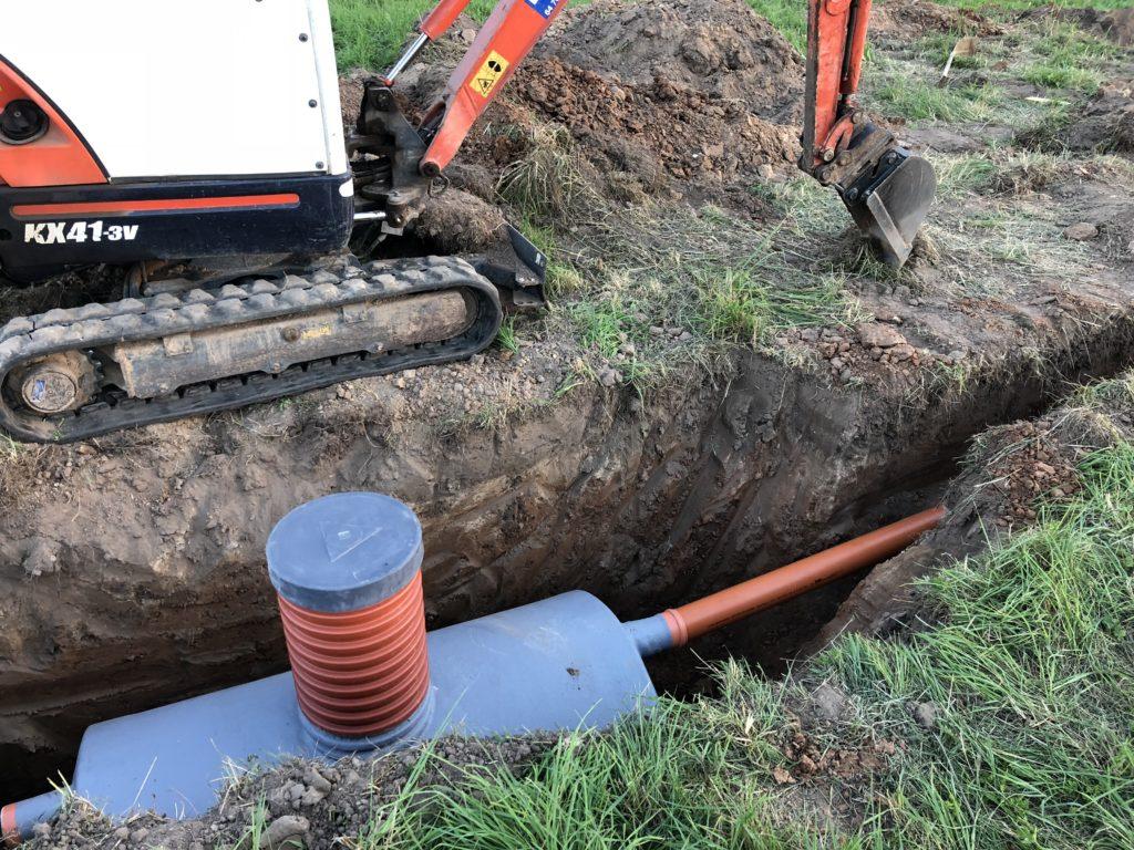 kanalizacijas ierikosanas darbi