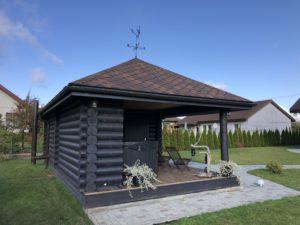 Guļbūves atpūtas namiņš Valmierā